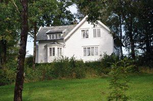 Ambrosia Tønnesen sitt hus Hus på Hordamuseet